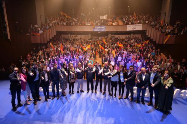 """El PP presenta el """"valor seguro"""" de sus candidatos municipales"""