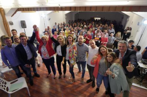 Isabel Belmonte vuelve a liderar la candidatura del PP en Antas
