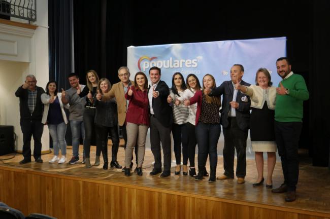 """El PP de Cantoria presenta una candidatura """"que va a acabar con el miedo en el municipio"""""""