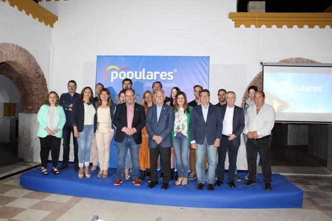 """Francisco Lirola pide el apoyo de los vecinos para lograr """"un cambio a mejor"""" en Dalías"""