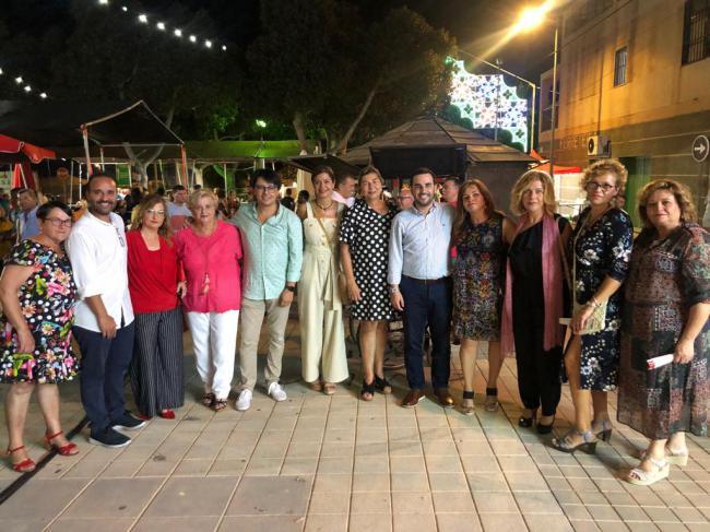 """Carlos Sánchez destaca """"el esfuerzo de todo el barrio"""" en el pregón de las fiestas de San Vicente"""