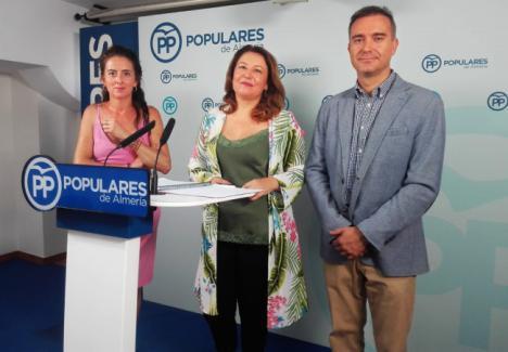 El PP denuncia que Susana Díaz ha sisado a los Ayuntamientos de Almería casi 200 millones de euros