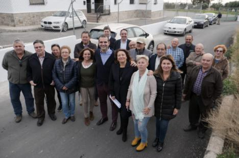 """Crespo: """"Con un gobierno del PP en la Junta los 103 municipios podrán lograr ayudas para caminos rurales"""""""