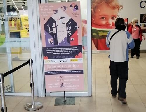 Carrefour, Alcampo y El Corte Inglés colaboran contra la violencia de género durante el #COVID19