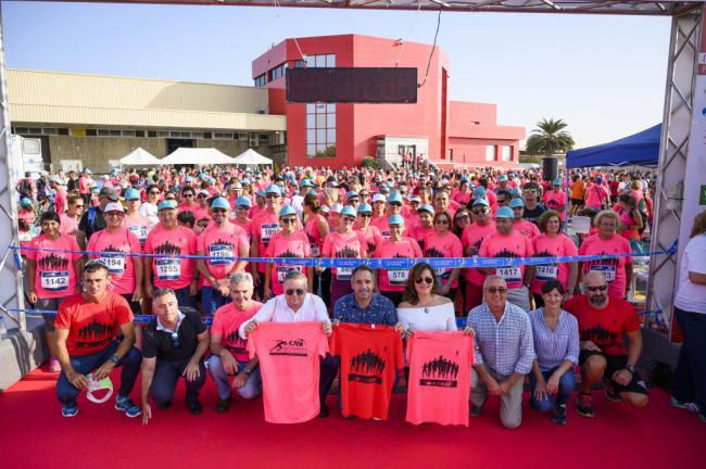 1.300 almerienses participan en la II edición de la Carrera Popular CASI