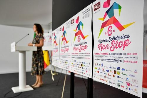 Vázquez anima a participar en las '6 Horas Non Stop' de la Fundación Jesús Peregrín