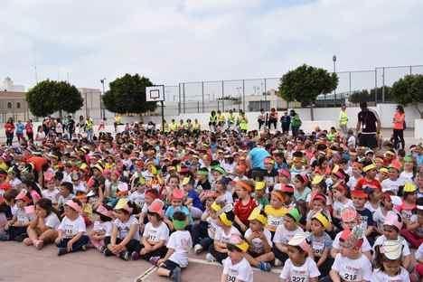 El colegio Concordia de Campohermoso corre por una causa solidaria