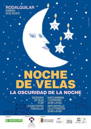"""La oscuridad de la noche tema central este año de """"La Noche de las Velas"""""""