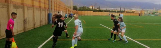 Primera victoria para el femenino ejidense frente al Atlético Estudiantes en la Copa Diputación