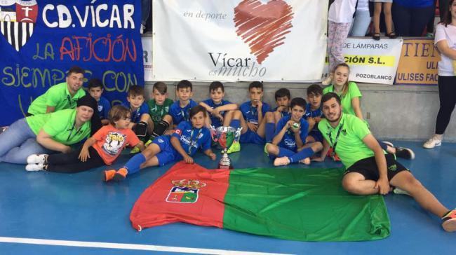 El CD Vícar Busca El Pase en el Campeonato De España Benjamín De Fútbol Sala