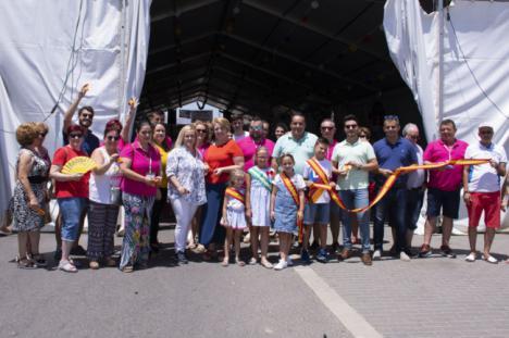 El chupinazo anuncia este mediodía el inicio de las fiestas de Campohermoso