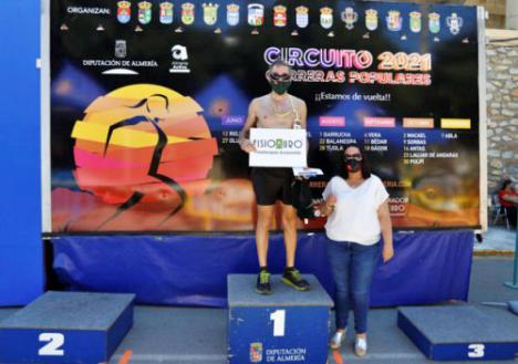Olula del Río se estrena en el Circuito de Carreras Populares de Diputación