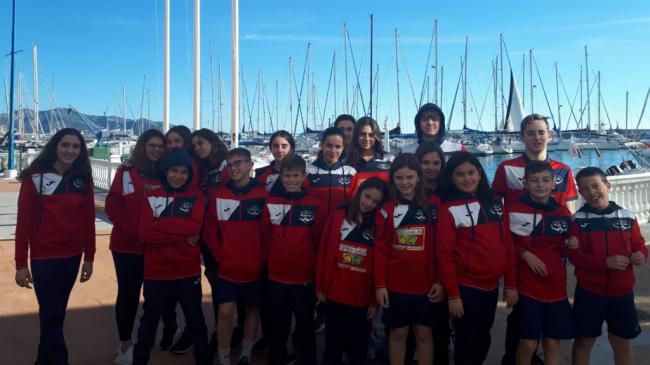 Gran actuación del CN Ciudad de Adra en el XLI Trofeo de Natación de Motril