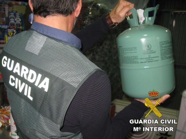 Detenido por contrabando de un gas perjudicial para el ozono
