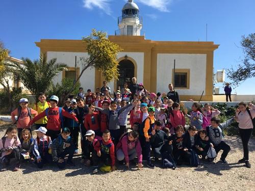2.000 personas visitaron el Puerto de Almería y los faros el año pasado