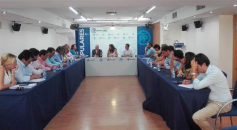 La secretaria general del PP-A confía en seguir siendo el primer partido en Almería