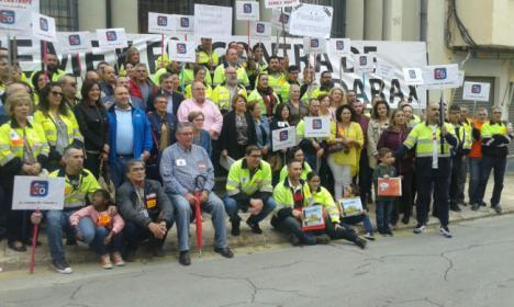 El PP de Benahadux registra una moción para que el Ayuntamiento apoye a los trabajadores de Cemex