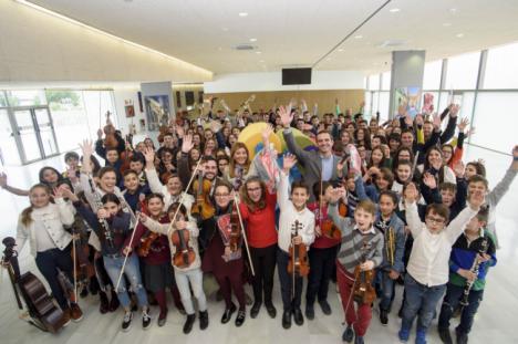 La OCAL cocina un concierto lleno de talento de su cantera para sumarse a Almería 2019