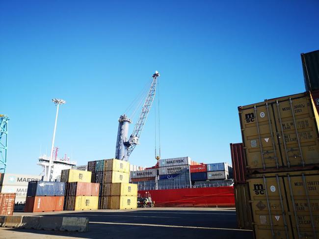 La Autoridad Portuaria de Almería incrementa un 86% la exportación de mercancías en enero
