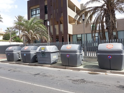 El Ayuntamiento de Almería aclara un vídeo sobre los residuos de #COVID19 de la residencia de El Zapillo