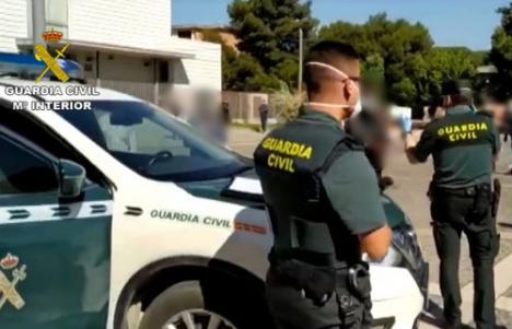 Detenidos con 88 gramos de hachís y 1.895 euros