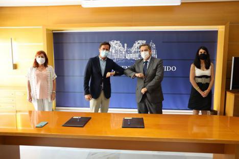 Intervención sociosanitaria conjunta del Ayuntamiento de El Ejido y el H de Poniente