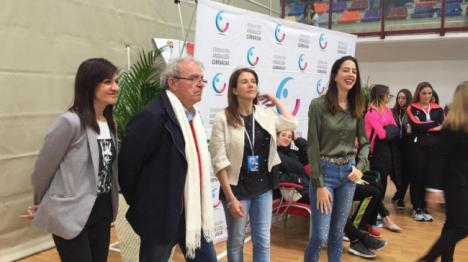 Vícar Disfruta De La Gimnasia Rítmica De CT Adonia Y La Seleccionadora Alejandra Quereda