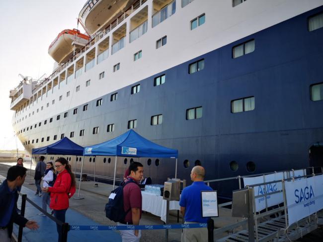 Almería cerrará el año con 38 cruceros y más de 29.600 turistas