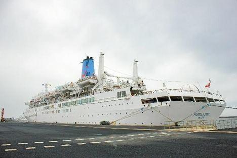El crucero 'Marella Spirit' vuelve a Almería