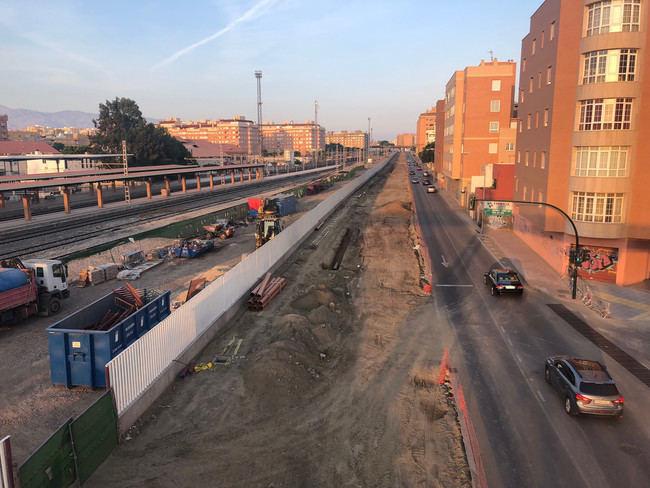 La Carretera Sierra Alhamilla quedará limitada a un carril por obras