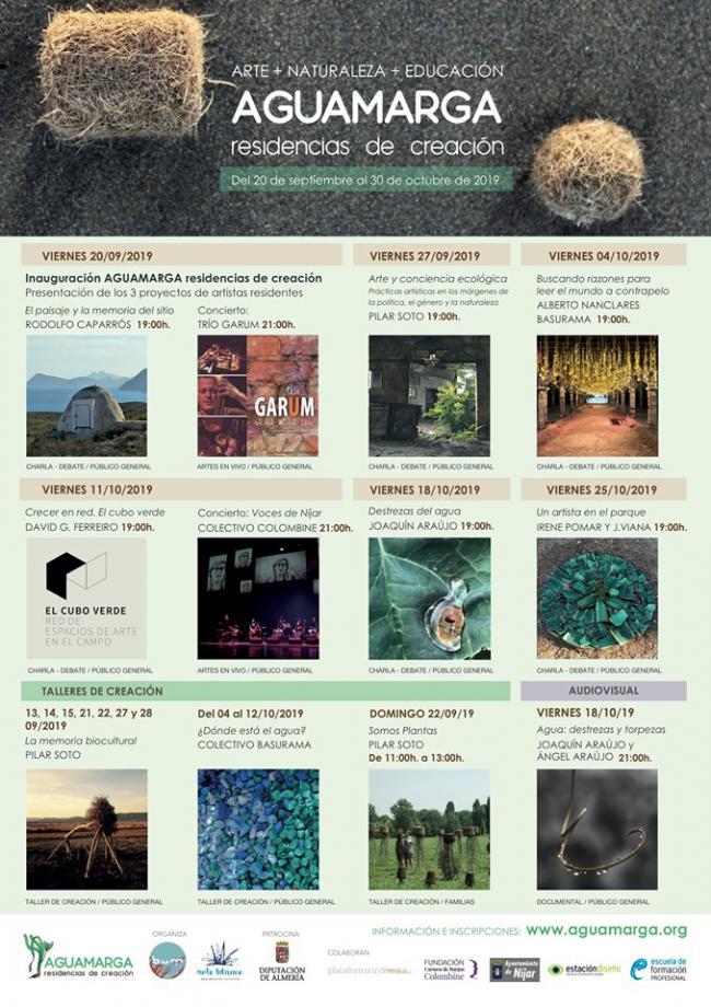 Comienza 'Aguamarga Residencias de Creación' para fusionar arte y naturaleza