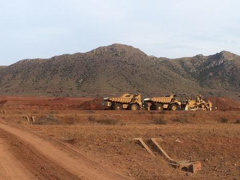 El GEM pide la paralización de las obras de transformación en regadío de 260 hectáreas en Níjar