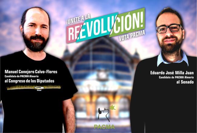 PACMA cerrará campaña en Almería con reparto de folletos informativos