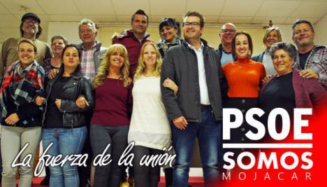 El PSOE se presenta en coalición en Mojácar