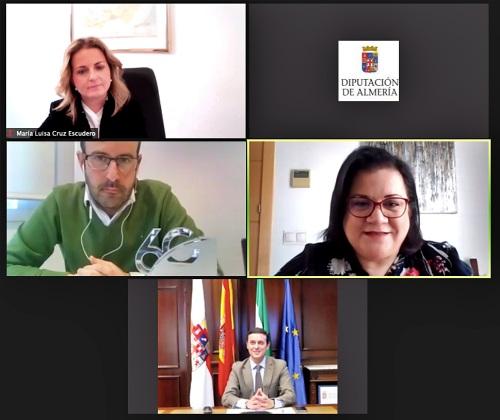 Diputación y Covirán estudian colaborar para fijar la población en el interior