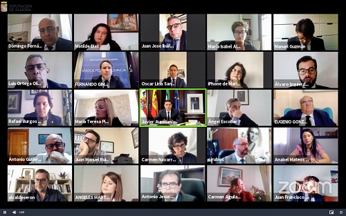 Diputación facilita a los ayuntamientos la celebración de plenos telemáticos