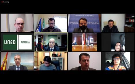 El Consorcio de la UNED en Almería constituye su consejo rector