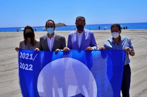 La Junta destaca la calidad de las playas de Almería para impulsar su marca turística