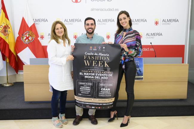 La moda se paseará por Almería con la 'Fashion Week' en el Teatro Cervantes