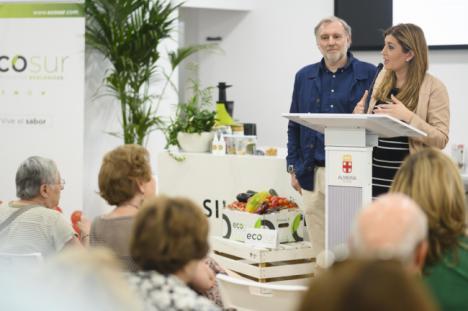 Almería 2019 acoge un showcooking con productos ecológicos de la empresa Ecosur