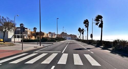 Diputación culmina la mejora en la carretera entre Balerma y Balanegra