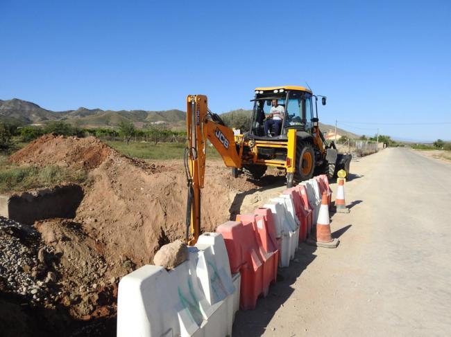 Arrancan en Huércal-Overa las obras de mejora de las carreteras del IRYDA