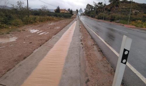 La Junta repara cuatro carreteras dañadas por la DANA en Almería