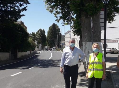La Junta invierte 2,1 millones € en carreteras de Almería