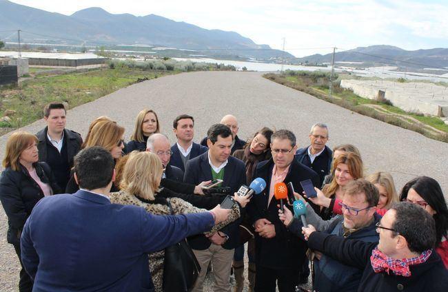 El Ayuntamiento de Berja reclama a la Junta de Andalucía una solución para las ramblas