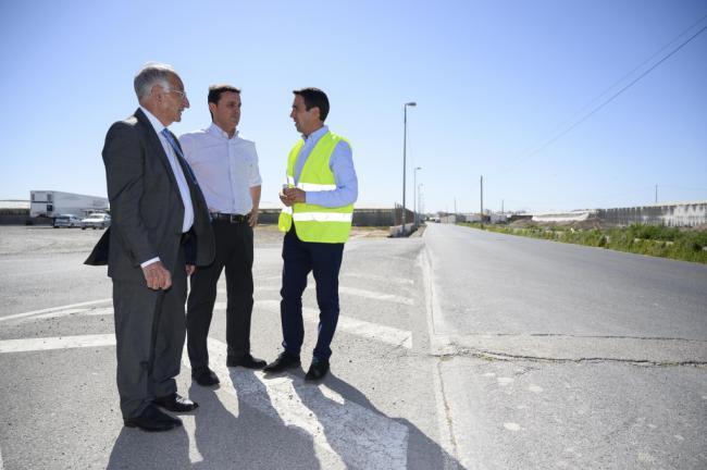 Diputación mejora 5,5 kilómetros de Caminos Rurales en Roquetas