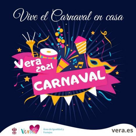 """El Ayuntamiento de Vera presenta unos carnavales para vivirlos """"desde casa"""""""