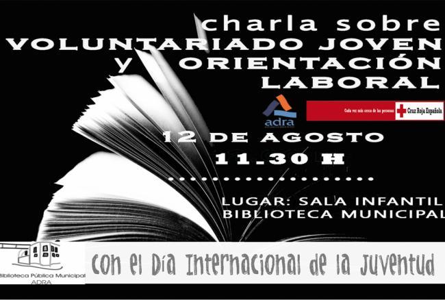 La Biblioteca de Adra celebra el 12 de agosto el Día de la Juventud