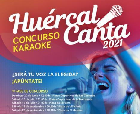 'Huércal Canta' tendrá una edición para niños de hasta 18 años