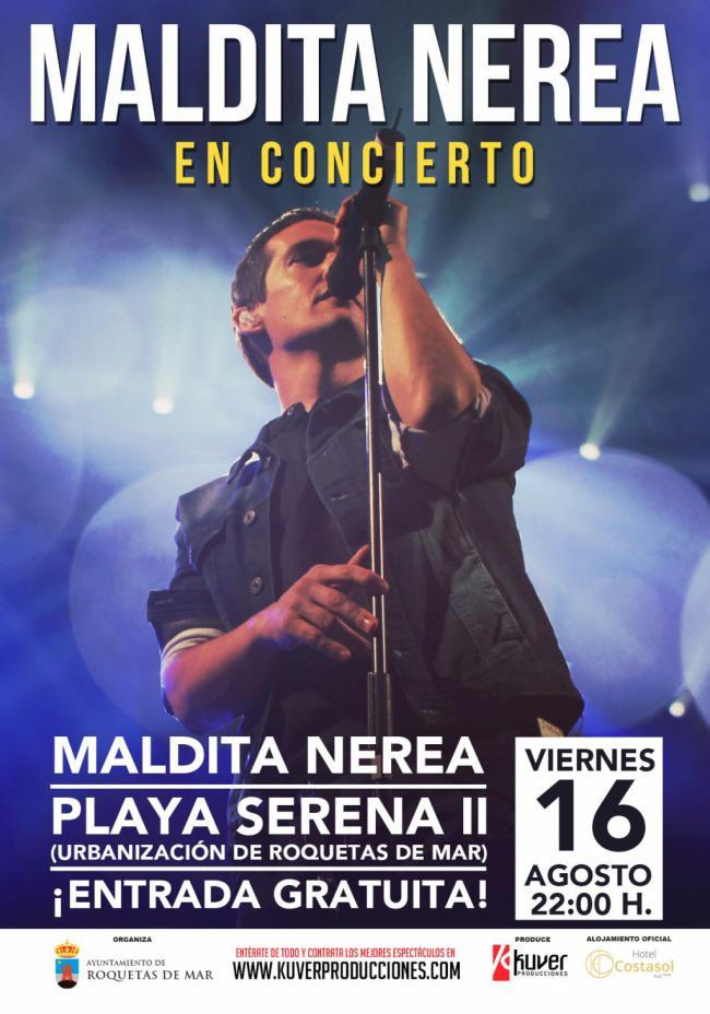 Maldita Nerea cierra el ciclo de conciertos gratuitos A Pie de Calle
